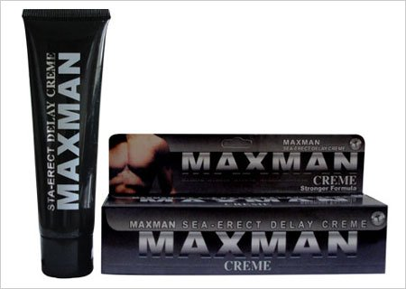 maxman penis enlargement cream