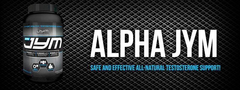 alpha Jym testosterone Boos