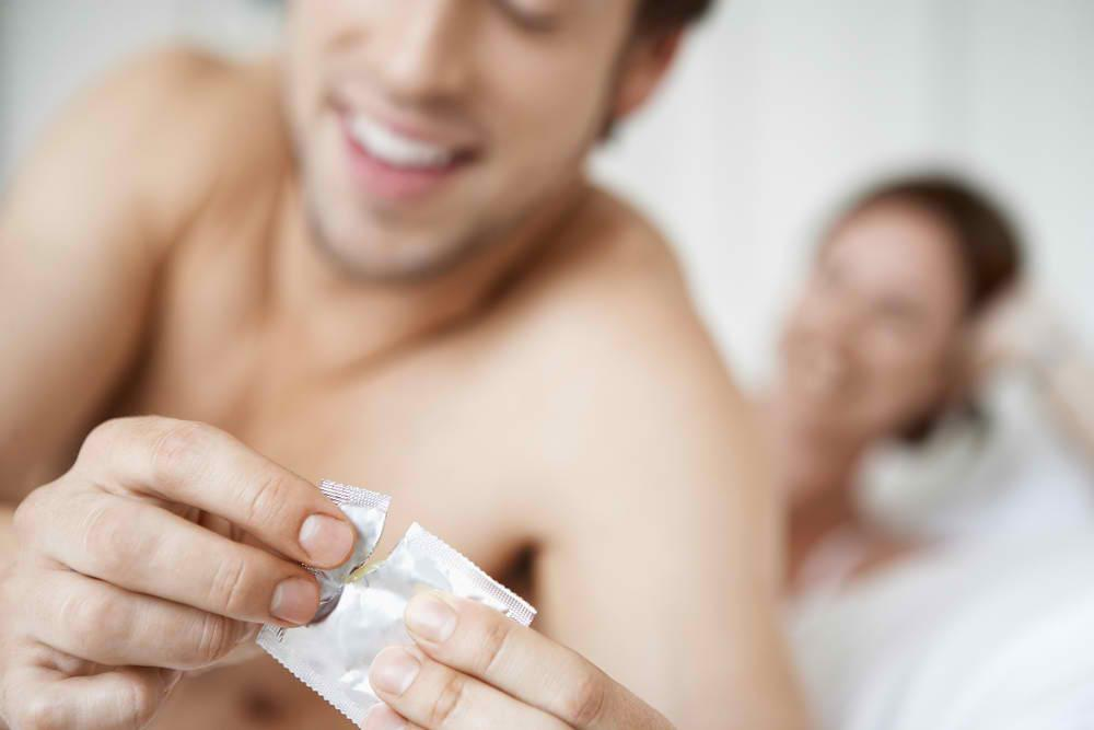 Condom for longer lasting sex